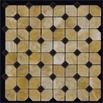Мозаика из натурального камня. Серия OCTAGON 1 0132-MP. Производитель Mir Mosaic Китай.
